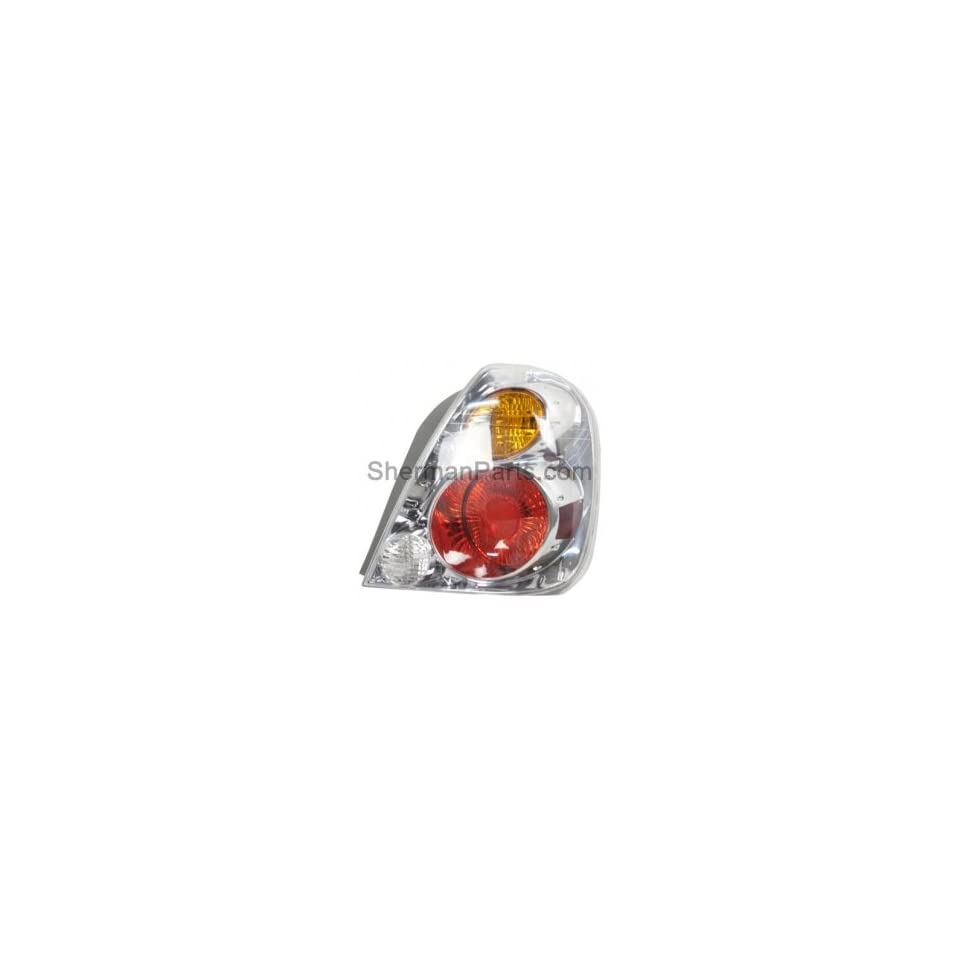 Sherman CCC1613190 2 Right Tail Lamp Assembly 2002 2004 Nissan/Datsun Altima