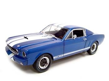 Buy Shelby Gt350r Blue 1:18 Diecast Model