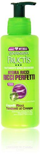 Garnier - Fructis, Ricci Perfetti, Trattamento senza risciacquo - 200 ml