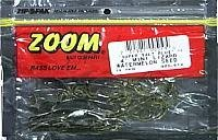 Zoom Mini Lizard Bait-Pack of 15 (Watermelon Seed, 4-Inch)
