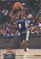 Avery Johnson San Antonio Spurs 1993 Stadium Club Autographed Hand Signed Trading... by Hall+of+Fame+Memorabilia