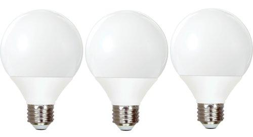 GE Lighting 85392 Energy Smart CFL 11-Watt (40-watt replacement) 500-Lumen G25 Light Bulb with Medium Base, 3-Pack (Ge Light Bulbs Cfl compare prices)