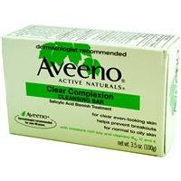 Aveeno Clear Complexion Cleansing Bar for Acne 3 5 ozB0000Y3NX2