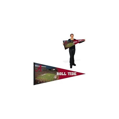 Alabama Crimson Tide Football Pennant 17x40 Stadium