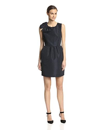 RED Valentino Women's Dotted Dress with Bow