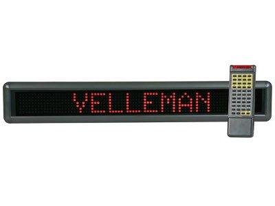 Velleman Mml16Ru Red Message Board