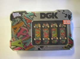 Tech Deck - Collector Tin with 4 Boards - Colors and Styles Vary