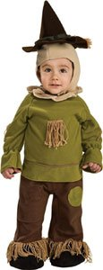 Wizard of Oz Scarecrow Baby Costume