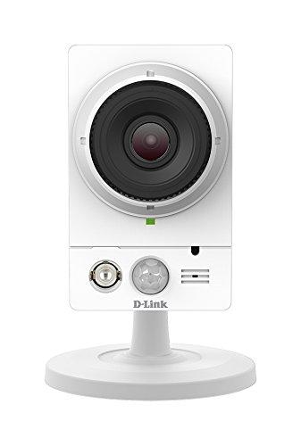 D-Link DCS-2210L Videocamera di Sorveglianza Full HD, PoE (Non Richiede Alimentazione Aggiuntiva), Visore Notturno, Slot per Micro SD, Audio a 2 Vie, Notifiche Push per iPhone/iPad/Smartphone, Bianco