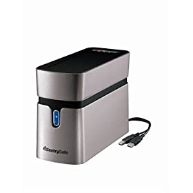 3135HftRJzL. SL500 AA280  SentrySafe Safe QA0004 Fire Safe Waterproof 160GB Hard Drive   $80
