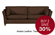Fenton Large Sofa - Leather