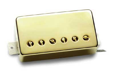 Seymour Duncan SH55 Seth Lover Humbucker Pickup (Bridge, Gold Cover)
