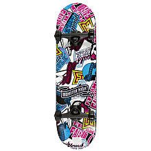 amzone: Monster High 28 Inch Skateboard-White