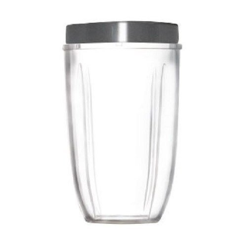 Nutribullet Tall Blending Cup with Screw off Comfort Lip Ring, 24 OZ (Nutra Bullet Accessories compare prices)