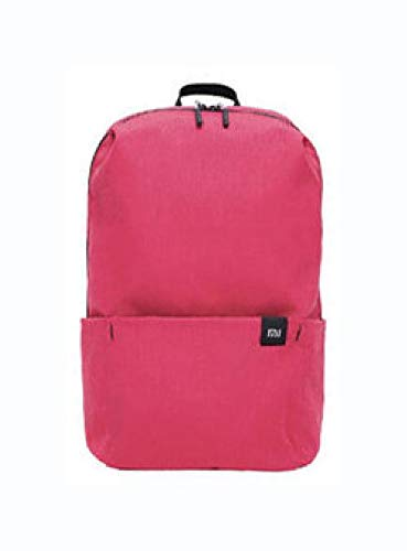 PROGLEAM Travel & Storage Bag, Original Xiaomi 10L Backpack Bag 8 Colors Level 4 Water Repellent 165g Weight YKK Zip Outdoor Chest Pack for Mens Women Travel Camping, Pink (Color: Pink)