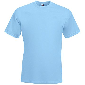 Fruit of the Loom T-Shirts 5 Pack - Super Premium T - pastel blue - M