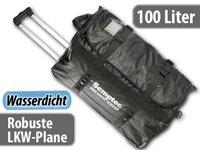 Semptec Trolley-Reisetasche aus LKW-Plane, 100