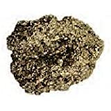 Huge Fool's Gold Chunk 2.25-3 Inch Pyrite Rock Gemstone w Info Card