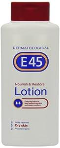 E45 Nourish and Restore Lightly Fragranced Body Lotion 400 ml