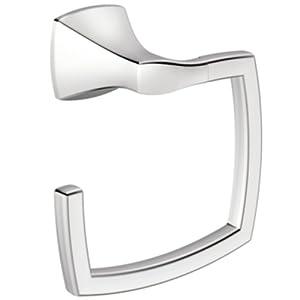 Moen YB5186CH Voss Towel Ring, Chrome