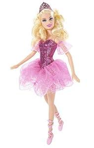 Mattel - Poupée - Barbie - Cendrillon Ballerine Paillette