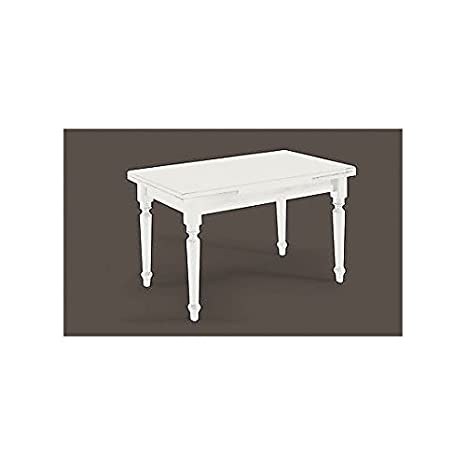 Wood Table 140 x 80 All 220laccato White Solid Wood Various Sizes – As Photos White and Ivory