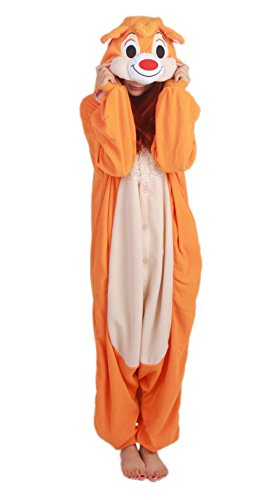Clever Squirrel Kigurumi Costume