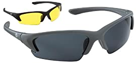 Easton A162719 Diamond Interchangeable UV Protective Adult Sunglasses