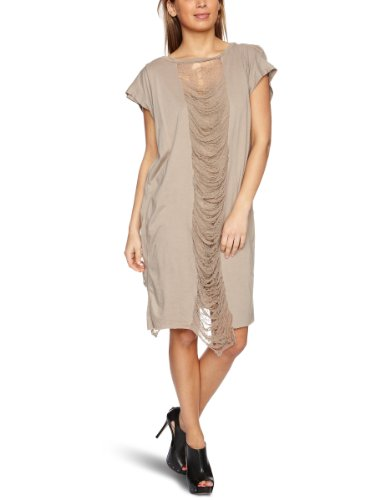 RELIGION LTD Erin Jersey Women's Dress Taupe