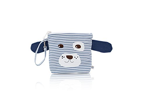 Nikiani My First Buddies Snack Bag - Scout Blue & White Doggy - 1