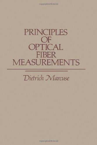 Principles Of Optical Fiber Measurements