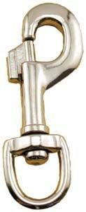 """3-1/2"""" Swivel Eye Snap Hook front-877334"""