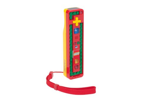 Wii LEGO Play and Build Remote - Red/Yellow (Wii Power Brick compare prices)