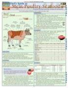 Chef'S Guide To Meat-Poultry- Seafood (Quickstudy: Home) by Inc. BarCharts