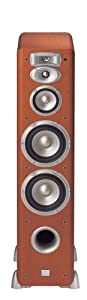 JBL L880CH 4-Way, High Performance 6-inch Dual Floorstanding Loudspeaker (Cherry)