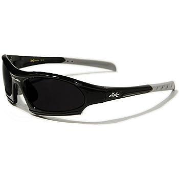 X-Loop Lunettes de Soleil - Sport - Cyclisme - Ski - Conduite - Moto - Plage / Mod. 5101 Noir / Taille Unique Adulte / Protection 100% UV400