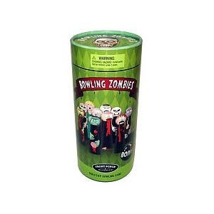 Bowling Zombies Wooden Novelty Game