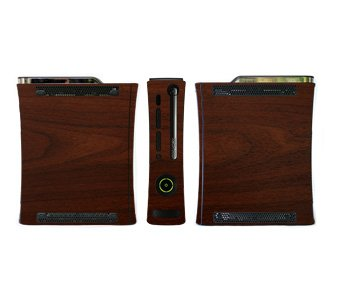 Wood Grain Pattern Skin for Xbox 360 Console