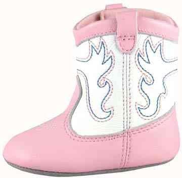 Smoky Mountain 1149 Girls' Baby Doe Boot Pink/White