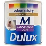 Dulux Colour Mixing Satinwood Base 500ml Medium