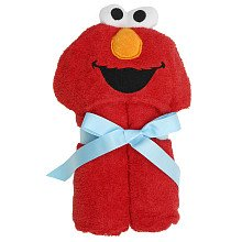 Sesame Street Elmo's World Hooded Towel - Elmo - 1