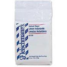 Fleischmanns Dry Active Baking Yeast 12 Case 2 Pound