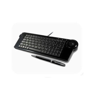 Solidtek Kb-4200 (Ask-4200) Supermini Kb W/Trackball Black