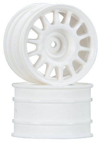 HPI Racing 107881 WR8 Rally Off-Road Wheel (2-Piece), 48x33mm, White
