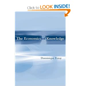 Economics of knowledge Dominique Foray