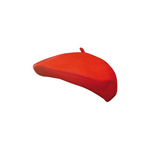 Aptaftes-CF800000ROUGE-Beret-Basque-Vritable-Laine-Taille-Unique