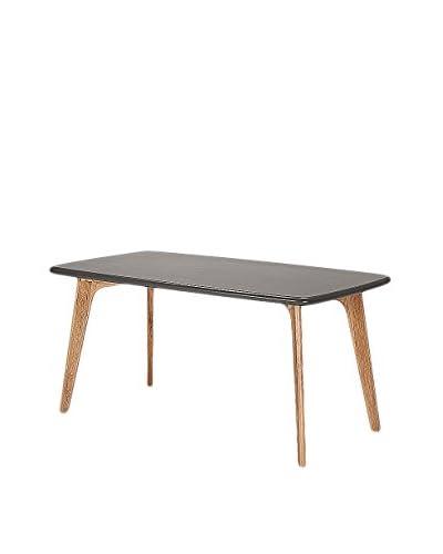 Gallerie Décor Vista Rectangle Table, Grey