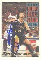 Detlef Schrempf Indiana Pacers 1993 Topps Gold Autographed Hand Signed Trading Card -... by Hall+of+Fame+Memorabilia