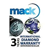 Mack 3 Year International Diamond Service Contract for Digital Cameras Video Cameras Lenses Binoculars Telescopes Flashes & Lighting - up to $750.00 Retail Value