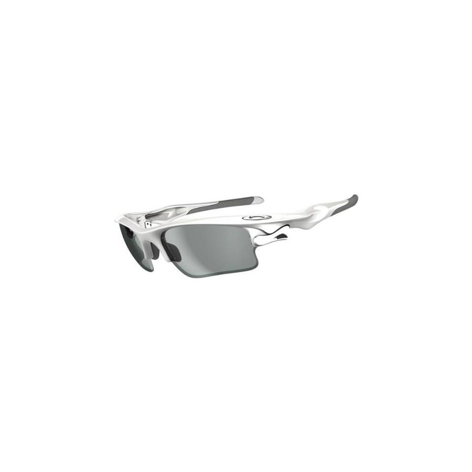 d6fc70e54ab Oakley Fast Jacket XL Mens Photochromic Transitions Solfx Designer Sunglasses  Polished White Clear Black Iridium